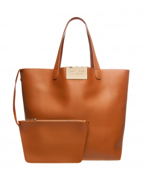 Shopper Luna large Ecoleather reversible