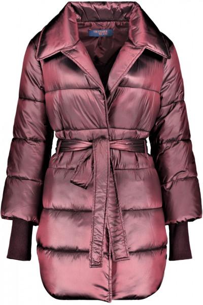Gesteppte Damenjacke soft satin Nylon