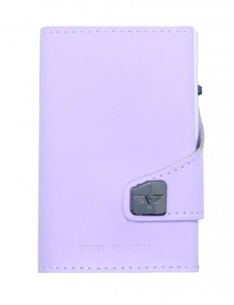 Tru Virtu Wallet Click&Slide Lilac Matt