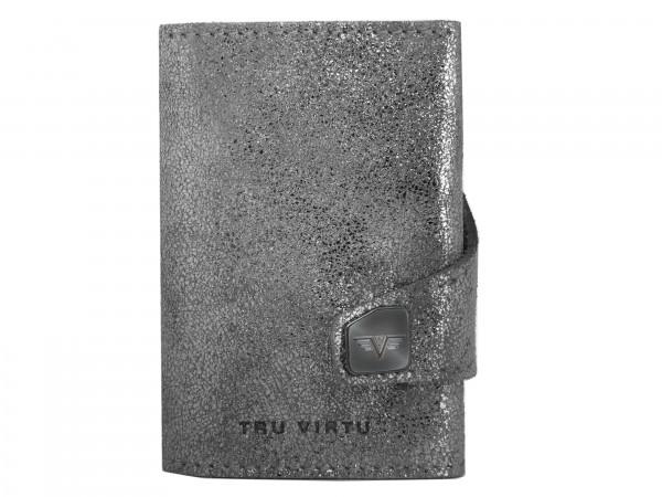 Tru Virtu Wallet Click&Slide Glitter Silvergrey/Silver