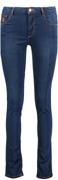 5Pocket Jeans regular Fit satin Denim