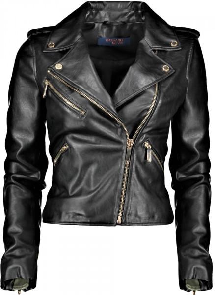 Jacket motorcycle soft Ecoleather