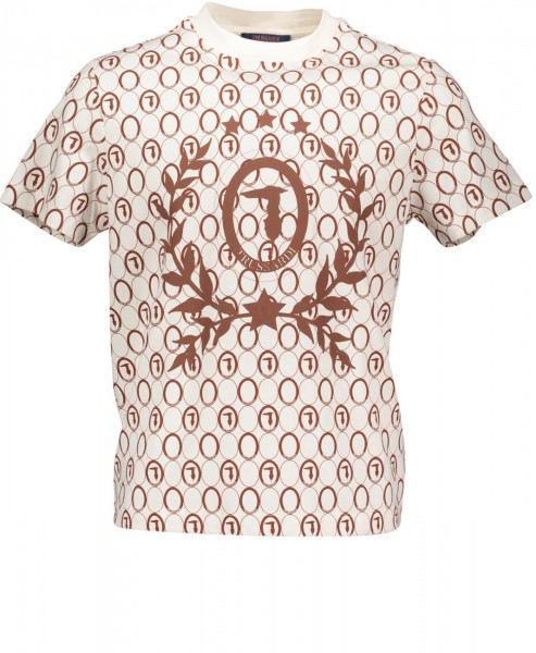 T-Shirt bedruckt mit Trussardi Logo