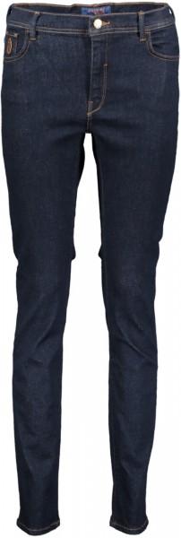 5 Pocket Jeans darkblue Denim Skinny 105