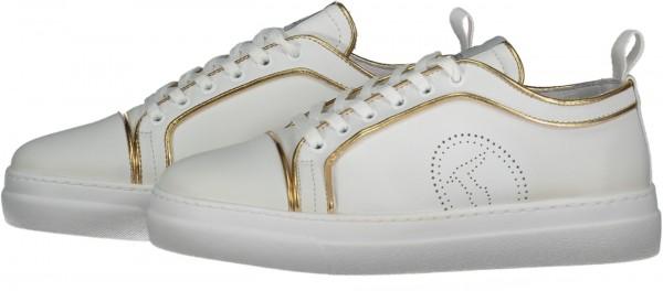 Damen Sneakers Premium Gold