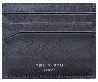 Tru Virtu Card Case Soft Nappa brown