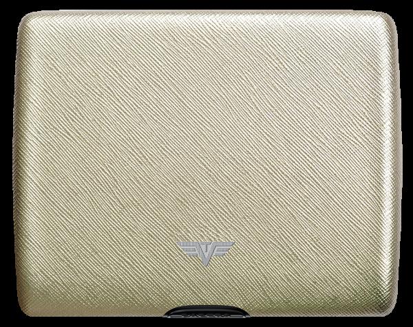 Tru Virtu Papers&Cards Leather Saffiano Whitegold