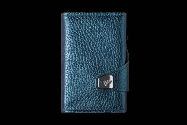 Tru Virtu Wallet Click&Slide Navy Metallic