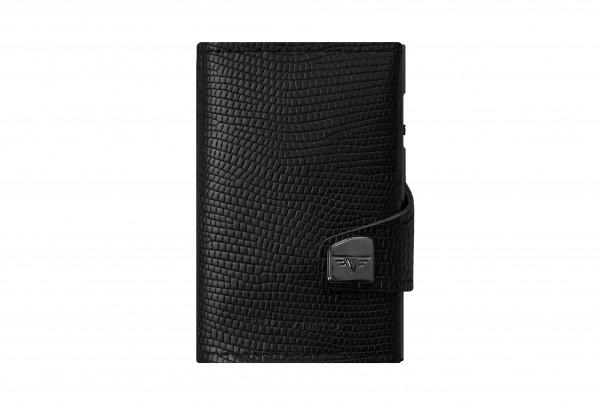 Tru Virtu Wallet Click&Slide Black Iguana