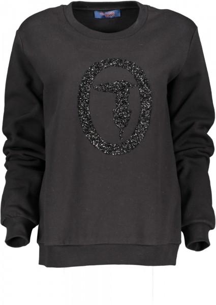 Damen Sweatshirt mit Frontlogo