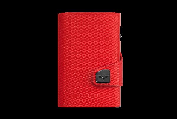 Tru Virtu Wallet Click&Slide Rhombus Coral