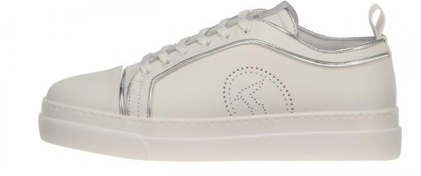 Damen Sneakers Premium Silver