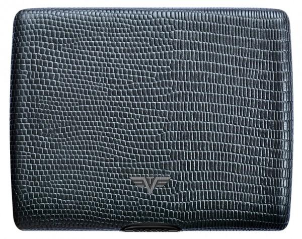 Tru Virtu Papers&Cards Leather Black Iguana