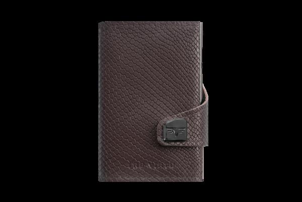 Tru Virtu Wallet Click&Slide Cobra Dark Brown