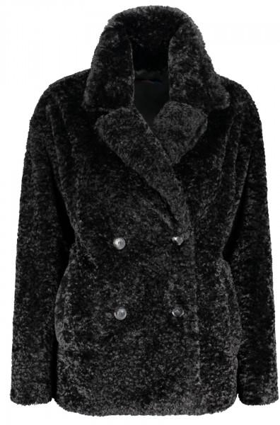 Overcoat teddy Ecofur kurz