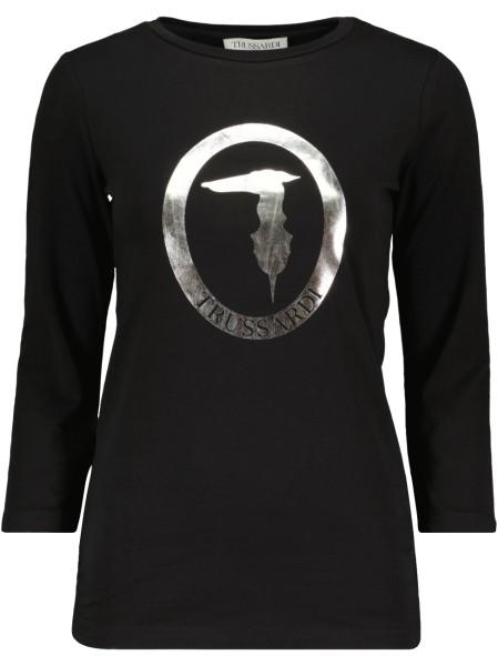 3/4 Arm Shirt Metallic Logo