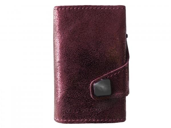 Tru Virtu Wallet Click&Slide Glitter Blackberry Silver