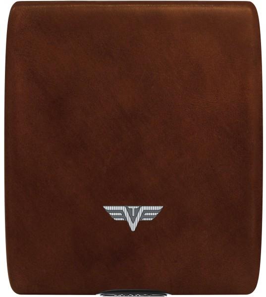 Tru Virtu Money&Cards Leather Natural Brown