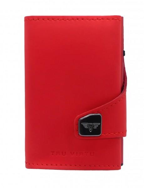 Tru Virtu Wallet Click&Slide Red Matt