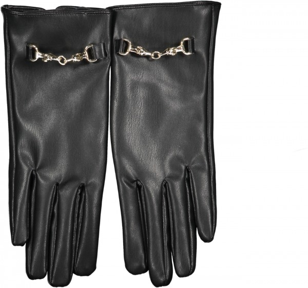 Damenhandschuhe aus Kunstleder