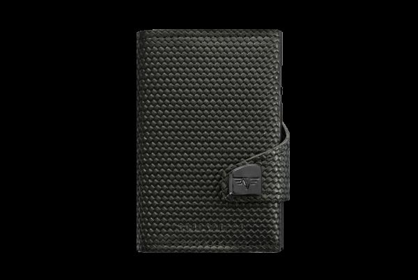 Tru Virtu Wallet Click&Slide Carbon Black