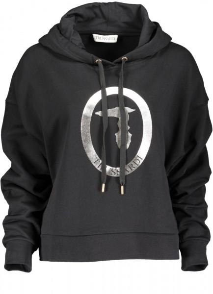 Sweatshirt Metallic Logo black