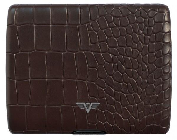 Tru Virtu Papers&Cards Leather Croco brown