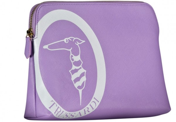 Beauty Case mit Logo Trussardi