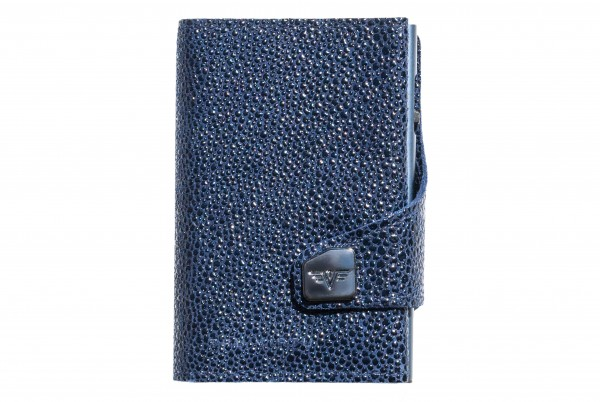 Tru Virtu Wallet Click&Slide Sting Ray Blue Titan