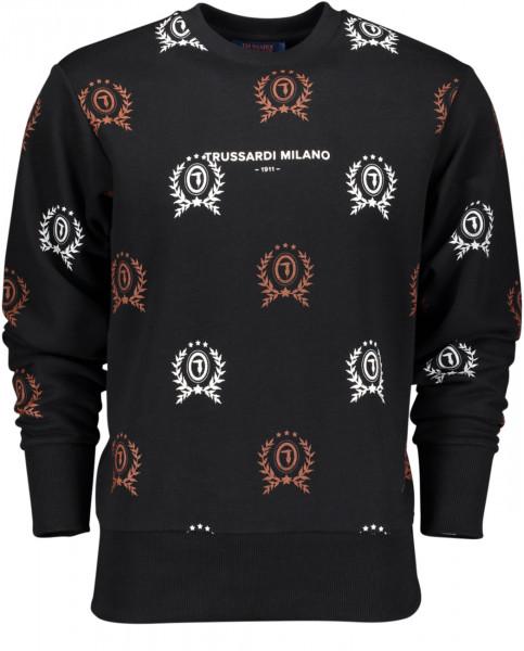 Herren Sweatshirt mit Trussardi Logo