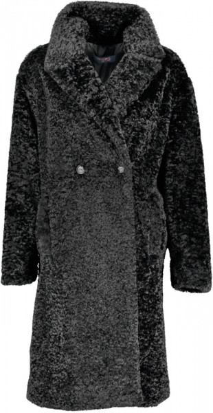 Overcoat teddy Ecofur long