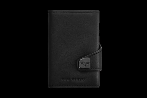 Tru Virtu Wallet Click&Slide Nappa Black